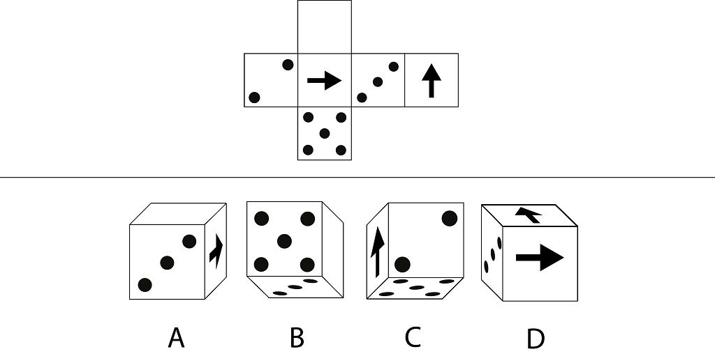 Spatial Test - Voorbeelditem 1